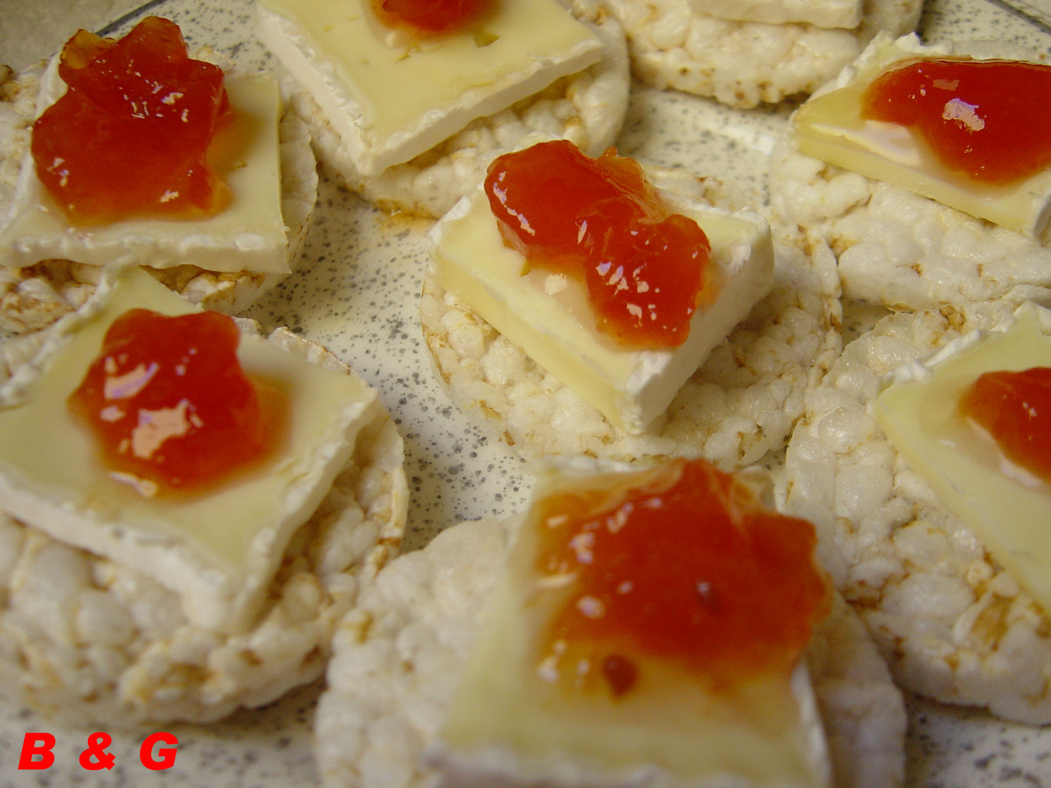 canapes brie
