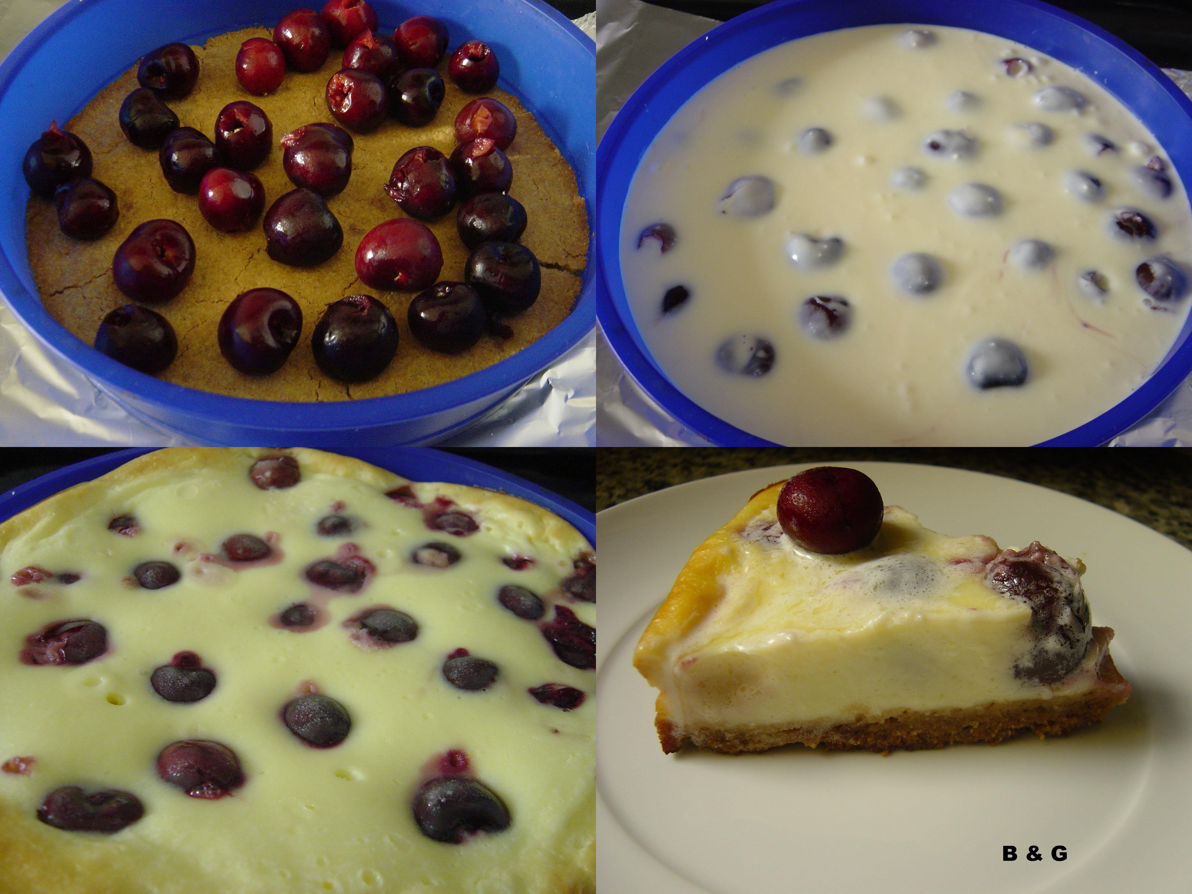 pastel queso cereza 4