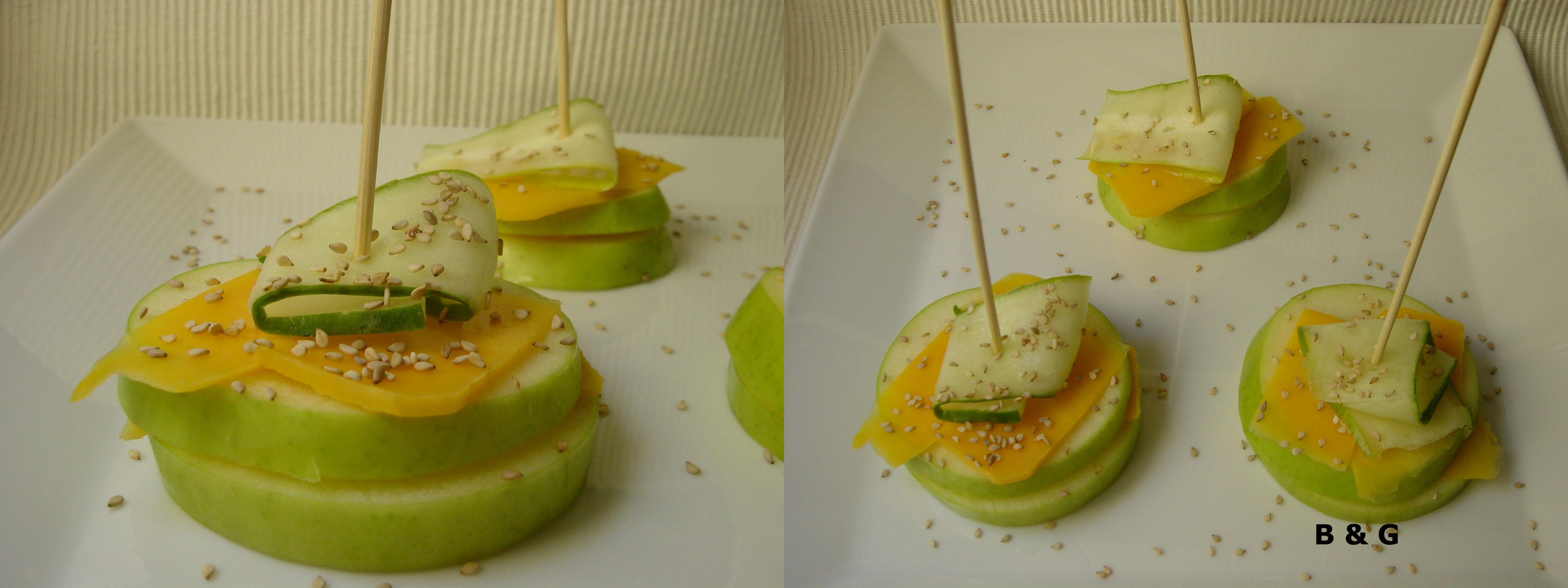 bocaditos manzana 2