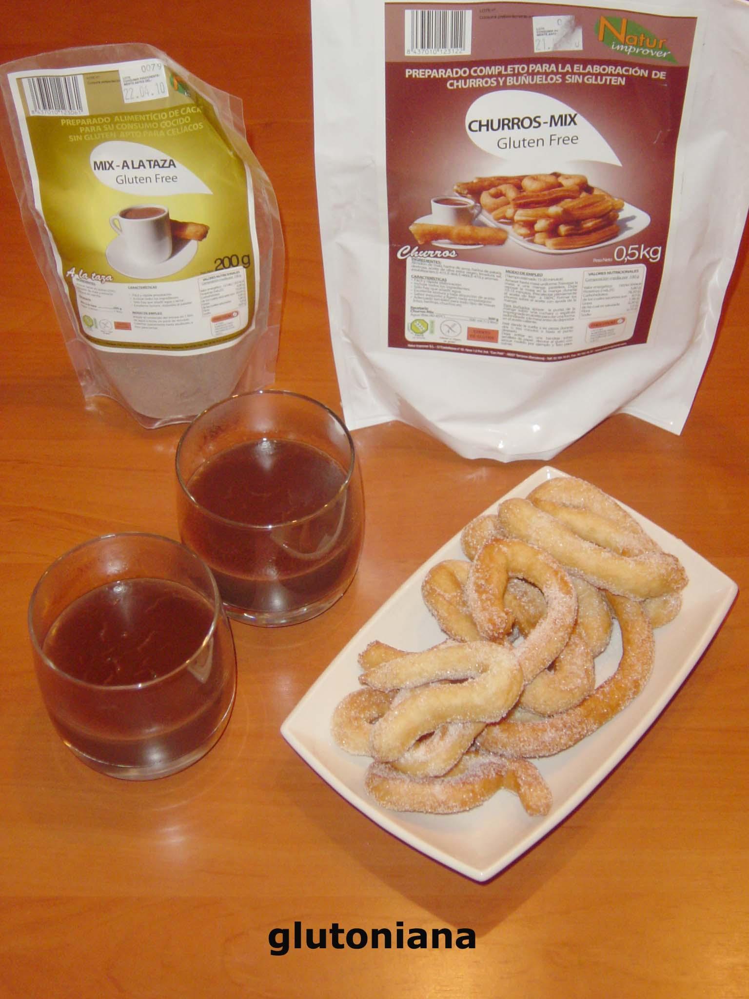 churros chocolate natur improver