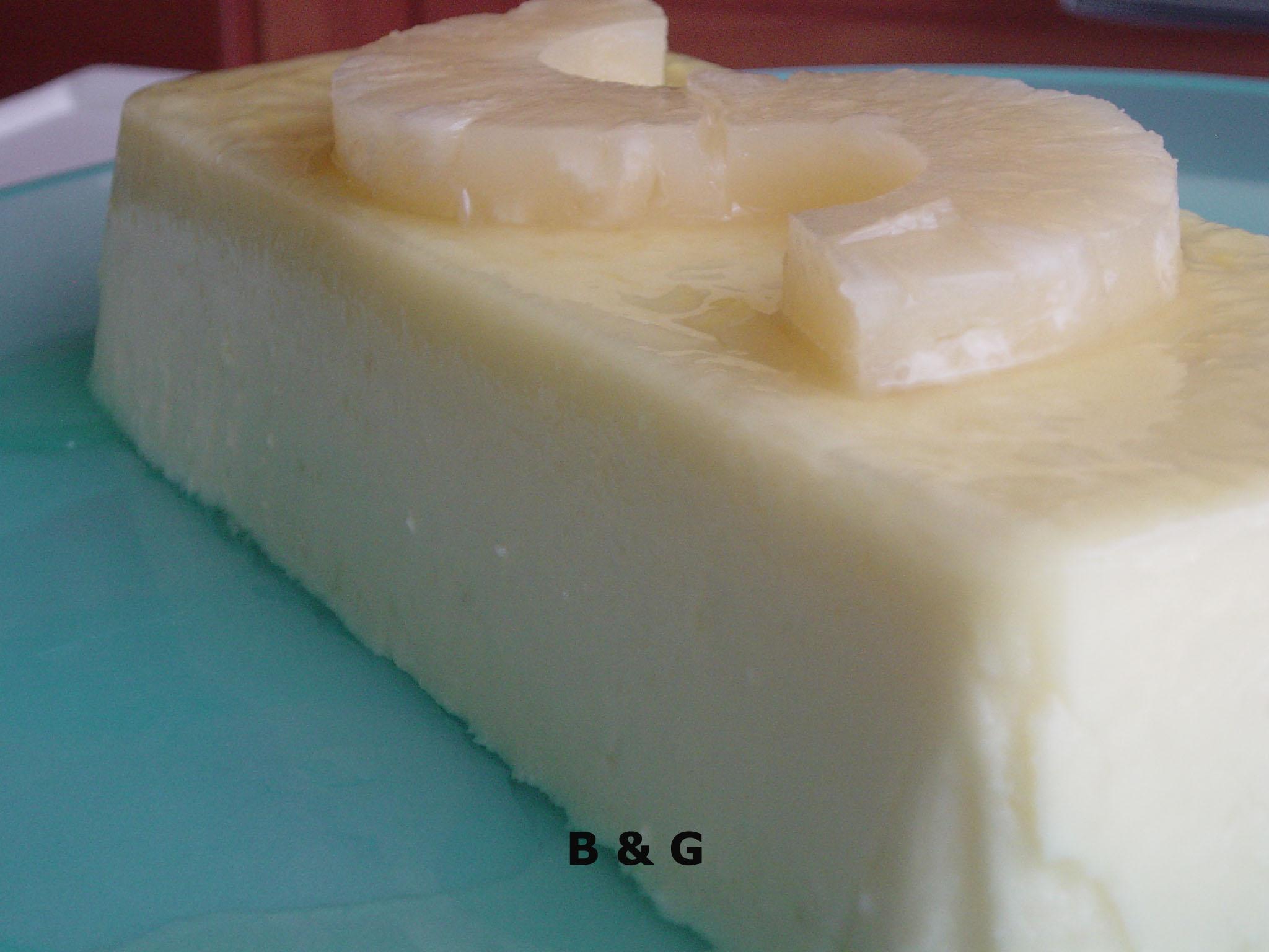 pastel frio piña