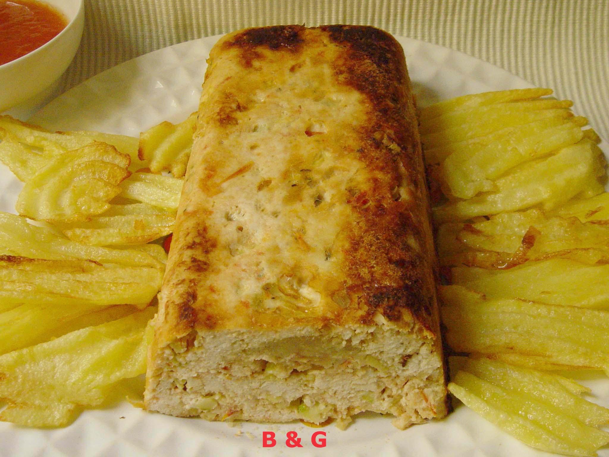 pan pollo calabacines