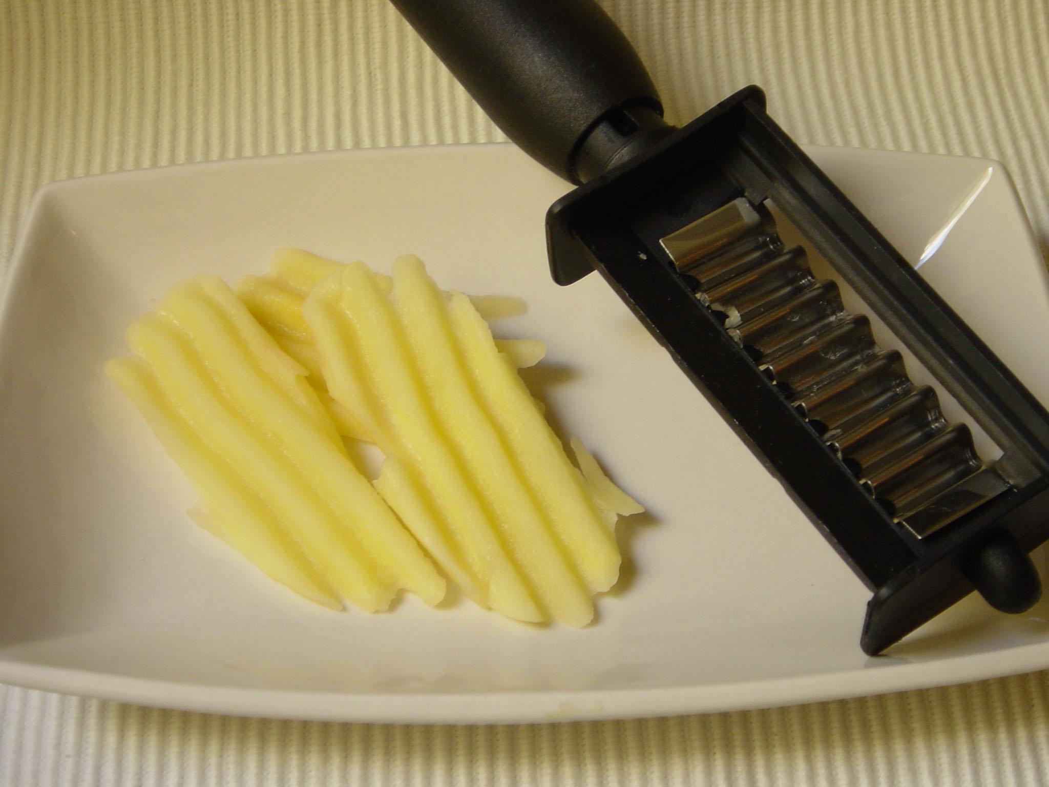 pelador patates ondulades