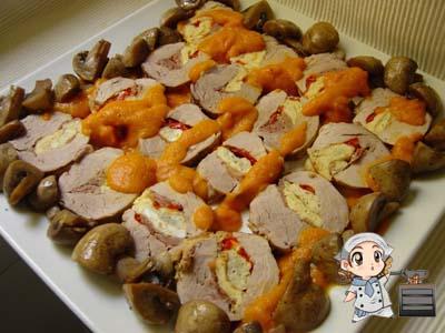 Las recetas de glutoniana solomillo de cerdo relleno de - Como preparar un solomillo de cerdo al horno ...