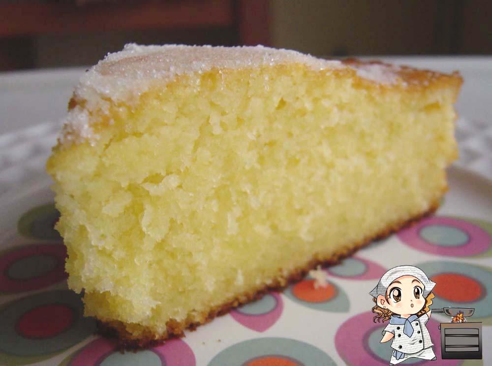 Comida recetas f ciles enero 2012 - Bizcocho de limon esponjoso ...