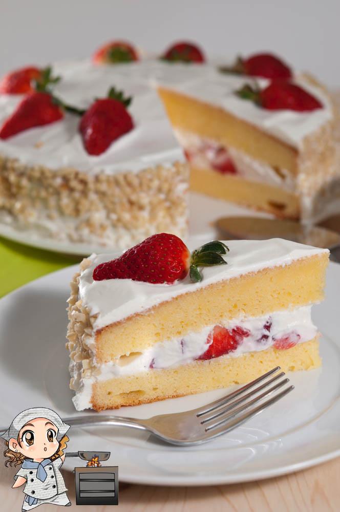 Recetas de tartas nata
