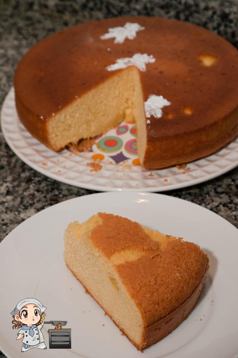 Las recetas de Glutoniana – Bizcocho cuatro cuartos (sin gluten y ...